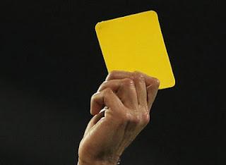 κίτρινες κάρτες