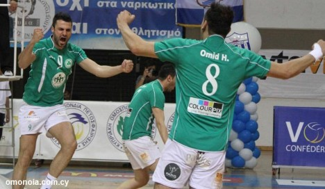 volley omonoia