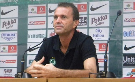 Tony Savevski Omonoia Coach